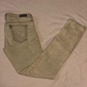 AG Acid Wash Skinny Jeans
